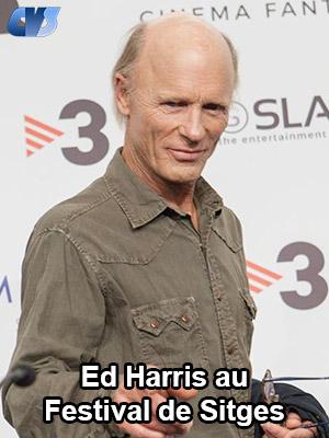 Ed Harris au Festival de Sitges |