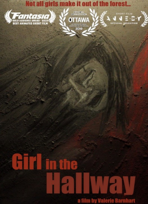 Girl in the hallway (Fille dans le couloir)   Valerie Barnhart. Réalisatrice